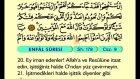 10. Enfal 1-40 - Arapça Okunuşlu - Mealli Kur'an-ı Kerim Hatim Seti