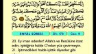 10. Enfâl 1-40 - Türkçe Okunuşlu - Mealli Kur'an-ı Kerim Hatim Seti