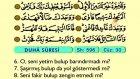 101. Duha - Türkçe Okunuşlu - Mealli Kur'an-ı Kerim Hatim Seti
