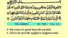 103. Tin - Türkçe Okunuşlu - Mealli Kur'an-ı Kerim Hatim Seti