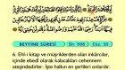 106. Beyyine - Arapça Okunuşlu - Mealli Kur'an-ı Kerim Hatim Seti