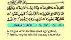 109. Kari'a - Türkçe Okunuşlu - Mealli Kur'an-ı Kerim Hatim Seti