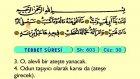 119. Tebbet - Arapça Okunuşlu - Mealli Kur'an-ı Kerim Hatim Seti