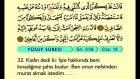 15. Yusuf 1-52 - Türkçe Okunuşlu - Mealli Kur'an-ı Kerim Hatim Seti