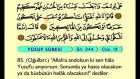 16. Yusuf 53-111 - Arapça Okunuşlu - Mealli Kur'an-ı Kerim Hatim Seti