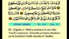 16. Yusuf 53-111 - Türkçe Okunuşlu - Mealli Kur'an-ı Kerim Hatim Seti