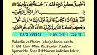 17. Ra'd - Arapça Okunuşlu - Mealli Kur'an-ı Kerim Hatim Seti