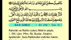 17. Ra'd - Türkçe Okunuşlu - Mealli Kur'an-ı Kerim Hatim Seti