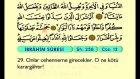 18. İbrahim - Arapça Okunuşlu - Mealli Kur'an-ı Kerim Hatim Seti