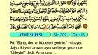 23. Kehf 75-110 - Türkçe Okunuşlu - Mealli Kur'an-ı Kerim Hatim Seti