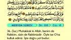 24. Meryem - Arapça Okunuşlu - Mealli Kur'an-ı Kerim Hatim Seti