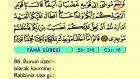 25. Taha - Türkçe Okunuşlu - Mealli Kur'an-ı Kerim Hatim Seti