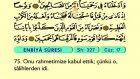 26. Enbiya - Arapça Okunuşlu - Mealli Kur'an-ı Kerim Hatim Seti