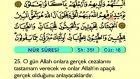 29. Nur - Türkçe Okunuşlu - Mealli Kur'an-ı Kerim Hatim Seti