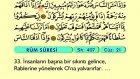 36. Rum - Arapça Okunuşlu - Mealli Kur'an-ı Kerim Hatim Seti