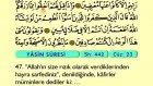 43. Yasin - Arapça Okunuşlu - Mealli Kur'an-ı Kerim Hatim Seti