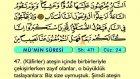 47. Mü'min - Arapça Okunuşlu - Mealli Kur'an-ı Kerim Hatim Seti