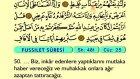 49. Fussilet 47-54 - Arapça Okunuşlu - Mealli Kur'an-ı Kerim Hatim Seti