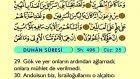 52. Duhân - Arapça Okunuşlu - Mealli Kur'an-ı Kerim Hatim Seti