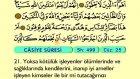 53. Casiye - Türkçe Okunuşlu - Mealli Kur'an-ı Kerim Hatim Seti