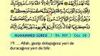 55. Muhammed - Türkçe Okunuşlu - Mealli Kur'an-ı Kerim Hatim Seti