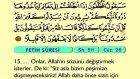 56. Fetih - Arapça Okunuşlu - Mealli Kur'an-ı Kerim Hatim Seti