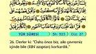 60. Tur - Türkçe Okunuşlu - Mealli Kur'an-ı Kerim Hatim Seti