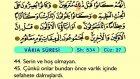 64. Vakı'a - Arapça Okunuşlu - Mealli Kur'an-ı Kerim Hatim Seti