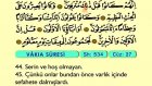 64. Vakıa - Türkçe Okunuşlu - Mealli Kur'an-ı Kerim Hatim Seti