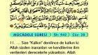 66. Mücadele - Türkçe Okunuşlu - Mealli Kur'an-ı Kerim Hatim Seti