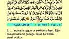 73. Talak - Arapça Okunuşlu - Mealli Kur'an-ı Kerim Hatim Seti