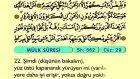 75. Mülk - Türkçe Okunuşlu - Mealli Kur'an-ı Kerim Hatim Seti