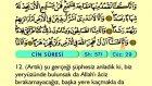 80. Cin - Türkçe Okunuşlu - Mealli Kur'an-ı Kerim Hatim Seti