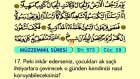 81. Müzzemmil - Türkçe Okunuşlu - Mealli Kur'an-ı Kerim Hatim Seti