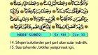 86. Nebe - Türkçe Okunuşlu - Mealli Kur'an-ı Kerim Hatim Seti