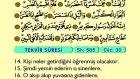 89. Tekvir - Arapça Okunuşlu - Mealli Kur'an-ı Kerim Hatim Seti