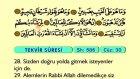 90. İnfitar - Türkçe Okunuşlu - Mealli Kur'an-ı Kerim Hatim Seti