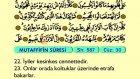 91. Mütaffifin - Türkçe Okunuşlu - Mealli Kur'an-ı Kerim Hatim Seti