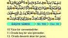 96. Ğaşiye - Arapça Okunuşlu - Mealli Kur'an-ı Kerim Hatim Seti