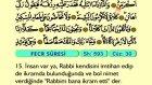 97. Fecr - Türkçe Okunuşlu - Mealli Kur'an-ı Kerim Hatim Seti