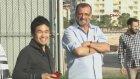 Bursaspor'da neşeli antrenman!