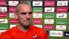 Sneijder gözyaşlarını zor tuttu