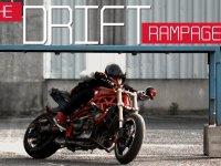 Romain Jeandrot'nun Motosiklet Üzerinde Yardırması