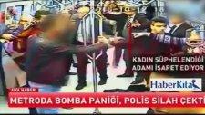 Ankara Metrosunda Canlı Bomba Paniği