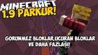 Minecraft 1.9 PARKUR !! - UÇURAN YARATIKLAR,GÖRÜNMEZ BLOKLAR VE DAHA FAZLASI!