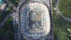 Vodafone Arena'da Çatı İçin Halatlar Gerildi
