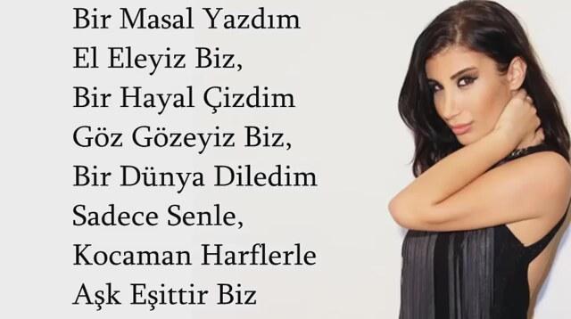 Irem Derici Ask Esittir Biz Sarki Sozu Lyrics Izlesene Com