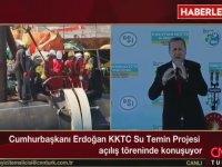 KKTC Cumhurbaşkanı'nın Erdoğan'ı Dinlememesi