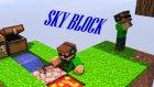 Minecraft-Sky-Block-1-Başlıyoruz!!