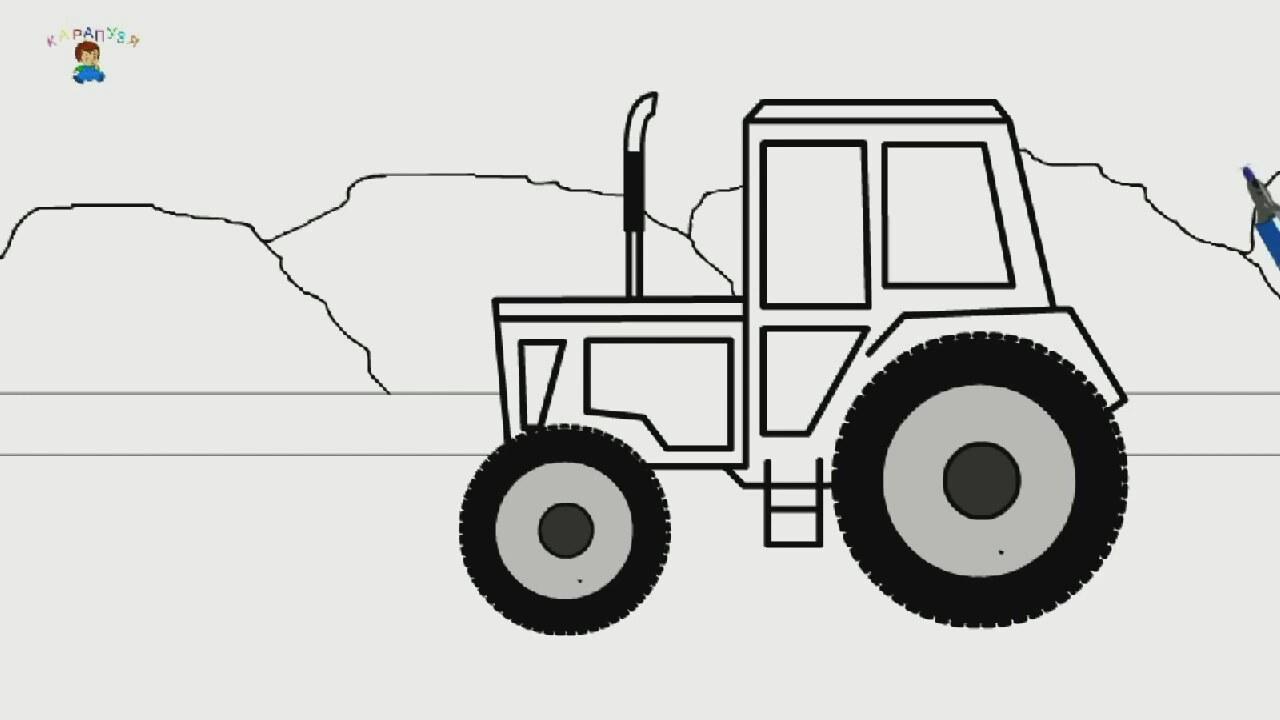 Egitici Cizgi Film Boyama Kitabi Traktor Izlesene Com